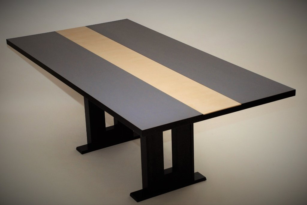 Black Maple Dining Table Belak Woodworking Llc