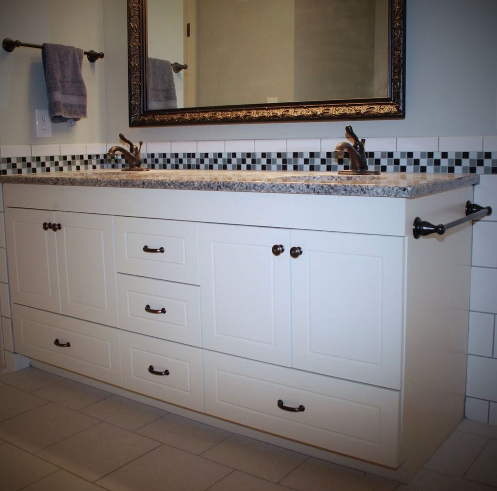 European Bathroom Vanity - Belak Woodworking LLC