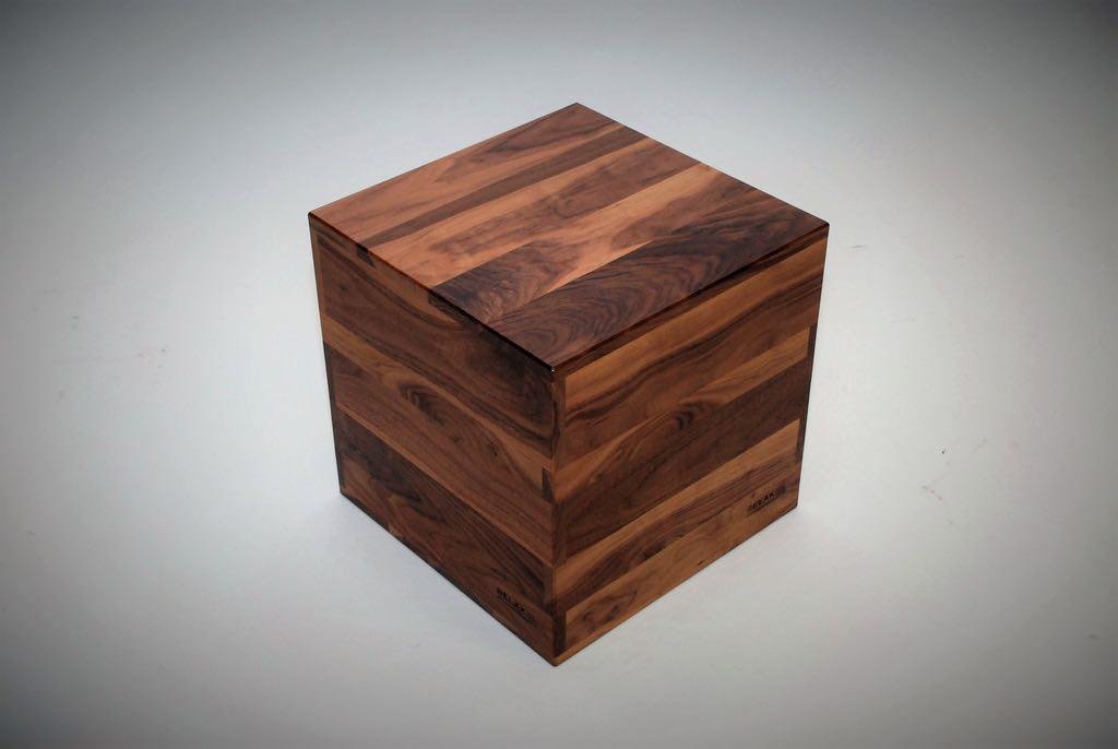 Walnut Cube