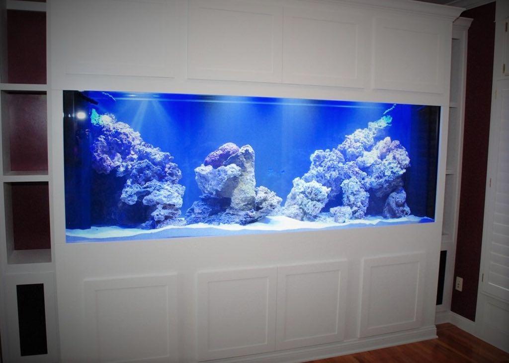 White Aquarium Stand