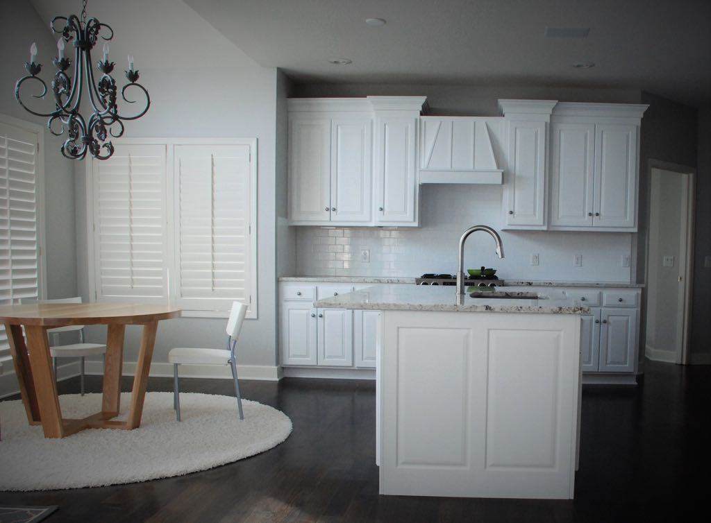 White Transitional Kitchen