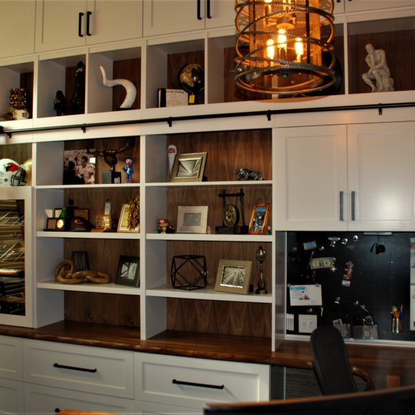 Carpenter Home Furniture products photograph custom designed & crafted by Belak Woodworking, LLC in the area of Lee's Summit, MO — Cabinet Builder & Pro Kansas City