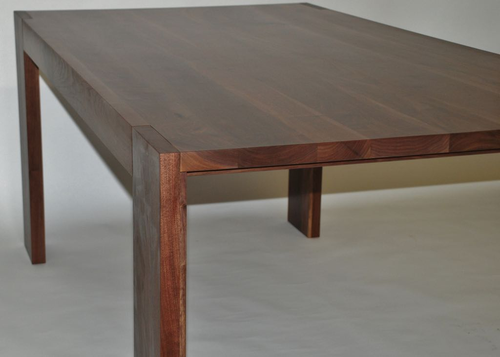 Parsons Walnut Dining Table
