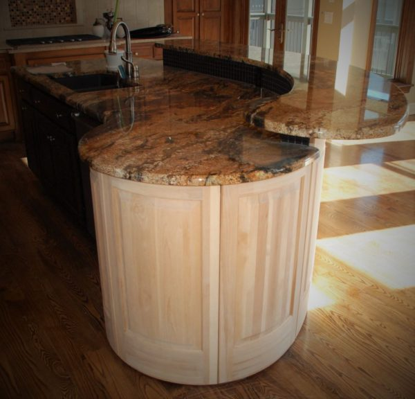 Radius Kitchen Island