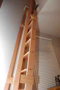 library-loft-ladder