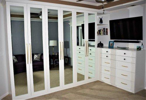 Custom-Built Home office furniture picture installed & built by Belak Woodworking near KC — Furniture Constructors & Skilled Tradesman in Carpentry Kansas City, KS (Kansas)