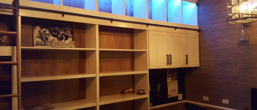 Modern Home + Office furniture picture custom built & constructed by Belak Woodworking LLC in Kansas City, MO (Missouri) — Cabinet Transformations & Remodeling Designer kansas city